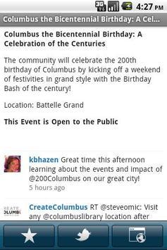 Greater Columbus Convention Ce apk screenshot