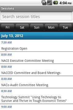 2012 NACo Annual Conference apk screenshot