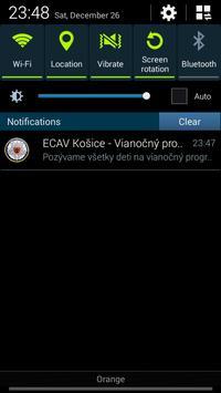 ECAV Košice Terasa apk screenshot