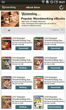 Popular Woodworking eBooks poster