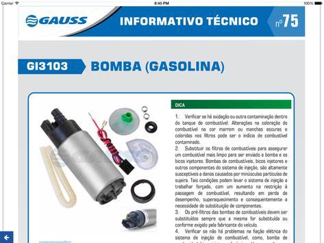 Gauss Autopeças apk screenshot