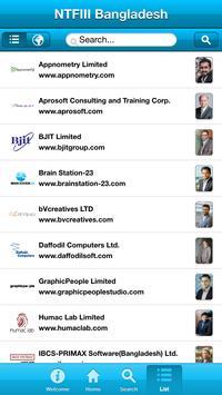 NTFIII Bangladesh Exporters apk screenshot