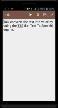 Talk apk screenshot