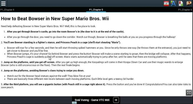 Play New Super Mario Bros. Wii apk screenshot