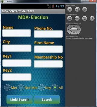 Contact Manager apk screenshot