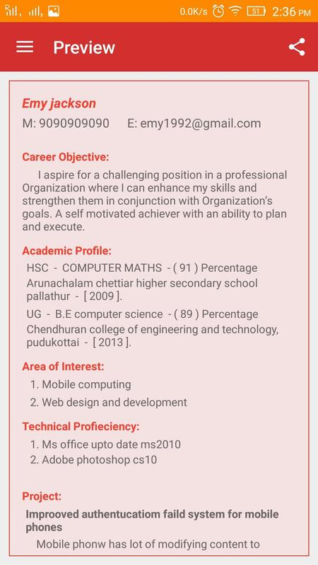 resume builder apk download free education app for