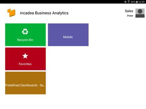 incadea Analytics poster