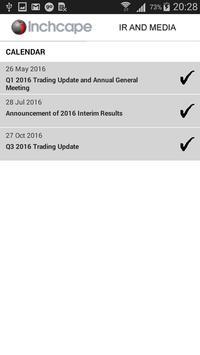 Inchcape Investor Relations apk screenshot