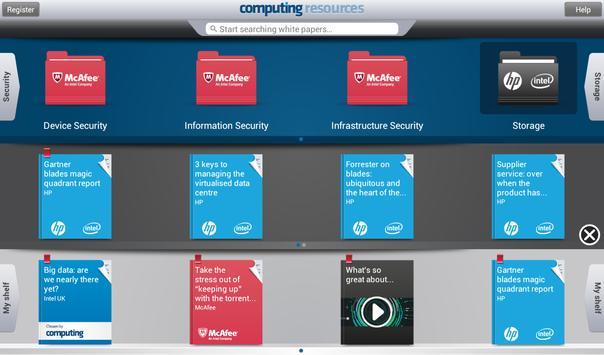 Computing Resources IT Library apk screenshot