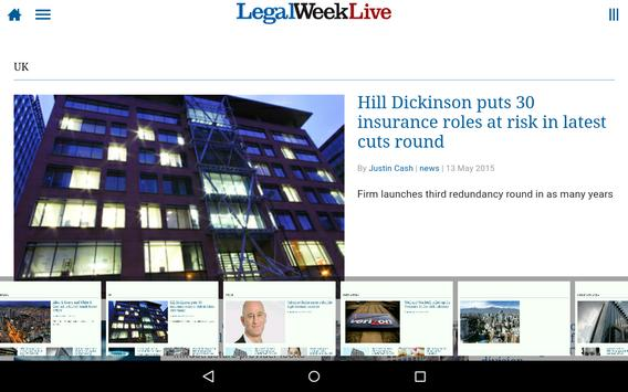 Legal Week Live poster