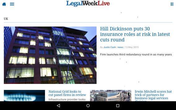 Legal Week Live apk screenshot
