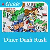 Guide for Diner Dash Rush icon