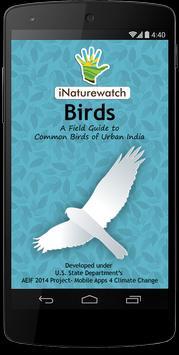 iNaturewatch Birds poster