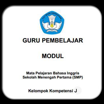 Modul GP B.Inggris SMP KK-J poster
