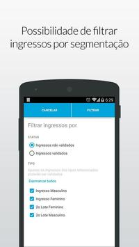 Ingresse Checkin Fácil apk screenshot