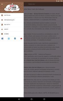Mostra Sesc Cariri apk screenshot