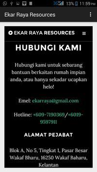 Ekar Raya Resources apk screenshot
