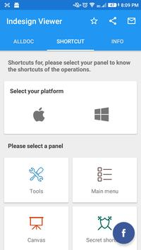 InDesign Viewer & Shortcuts apk screenshot