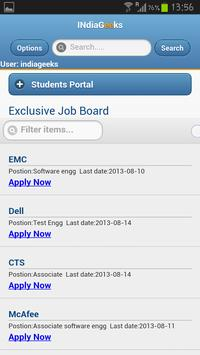INDIAGEEKS JOBS AND INTERVIEWS apk screenshot
