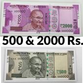 Convert black money to white icon