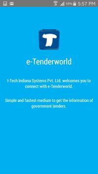 e-Tenderworld poster