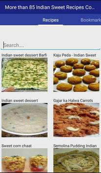 Indian Sweet Recipes apk screenshot