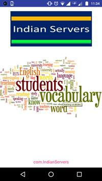 English Vocabulary - Learn Eng poster