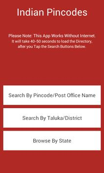 All Indian Post Pincode Finder poster