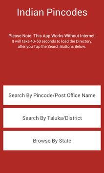 All Indian Post Pincode Finder apk screenshot