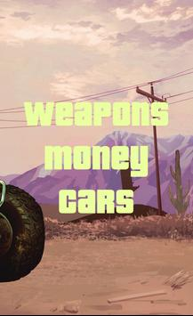 Cheats for GTA V apk screenshot