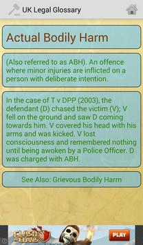 UK Legal Glossary apk screenshot
