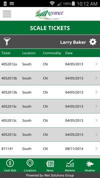 Agvance Mobile Grain apk screenshot