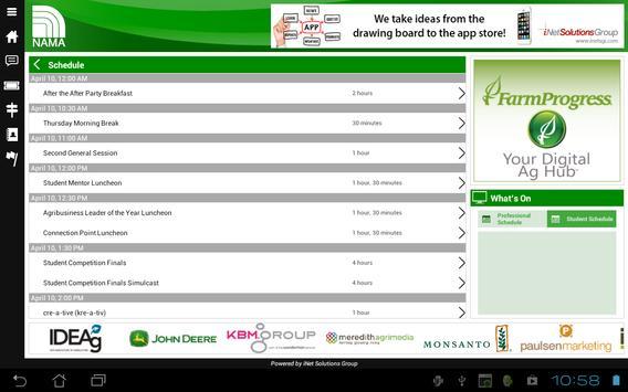 NAMA - Tablet apk screenshot
