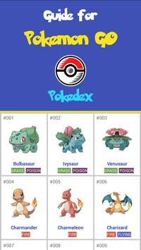 Guide For Pokemon GO. Pokedex poster