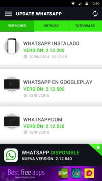 Actualizar para WhatsApp apk screenshot