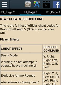 All GTA Cheats for PC/Console apk screenshot