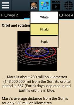 Mars Ebook apk screenshot