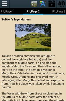 Middle-earth Ebook apk screenshot