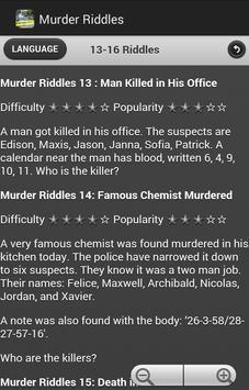 Detective Riddles apk screenshot