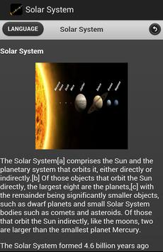 Solar System Ebook apk screenshot