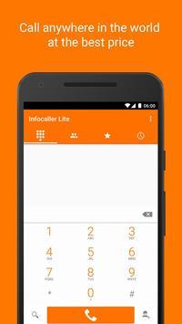 Infocaller Lite: cheap calls apk screenshot