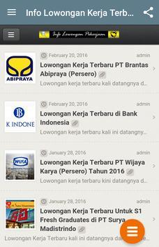 Bursa Lowongan Kerja apk screenshot