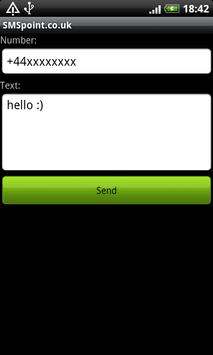 SMSpoint apk screenshot
