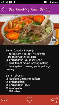 Resep Daging Kambing apk screenshot