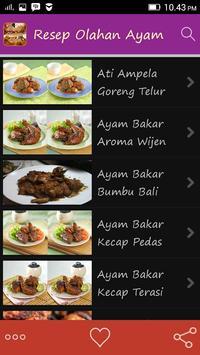 Resep Olahan Ayam apk screenshot