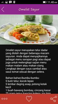 Resep Olahan Telur apk screenshot