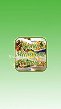 Resep Masakan Tumis poster
