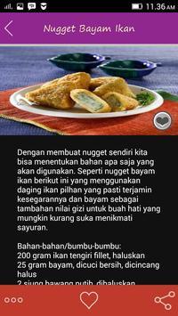 Resep Nugget Pilihan apk screenshot