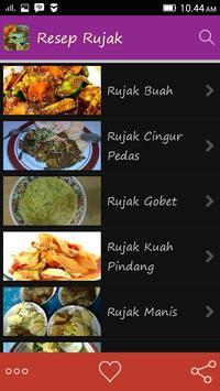Resep Rujak apk screenshot