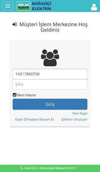 CLK Boğaziçi Mobil İşlemler apk screenshot